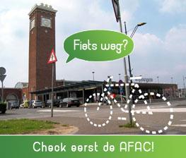 Fiets weg? Check eerst de AFAC!